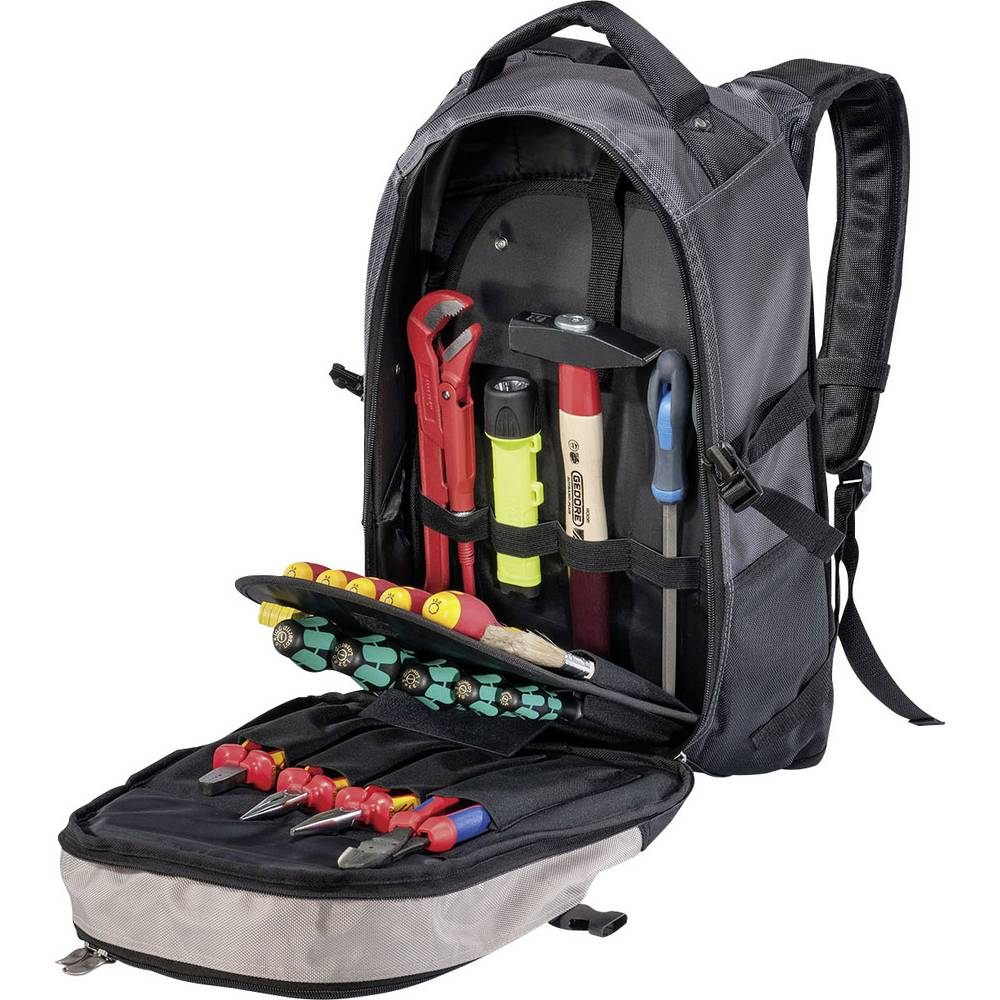 Universal Verktygsryggsäck (tom) Parat BASIC Backpack 5990504991 (BxHxD) 500 x 200 x 350 mm