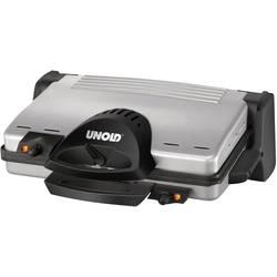 Električni kontaktni roštilj Unold 8555 s ručnim podešavanjem temperature, plemeniti čelik, crni