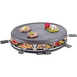 Raclette roštilj Severin RG2681 s ručnim podešavanjem temperature, 8 tavica, crne boje