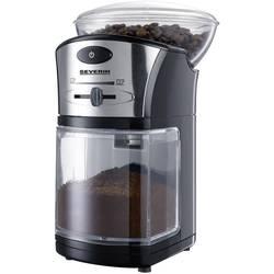 Mlin za kavu sa mljevnim mehanizmom Severin KM 3874, crno-srebrne boje