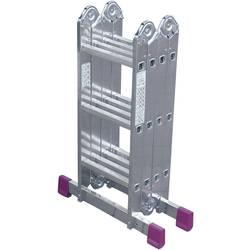 Krause 085108 aluminij večnamenska lestev vklj. prečna letev Delovna višina (maks.): 4.40 m srebrna 11.9 kg