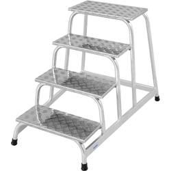 Krause 805041 montažne stopnice iz aluminija, maks., delovna višina 2.80 m