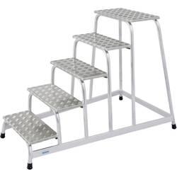 Krause 805058 montažne stopnice iz aluminija, maks., delovna višina 3.00 m