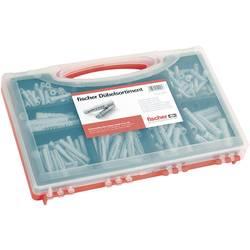 Vložki Fischer SX/UX, najlon, škatla, rdeča, 1 komplet