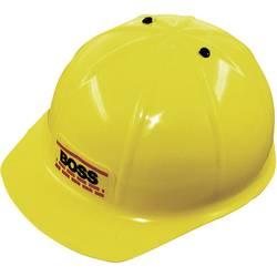 Dječja zaštitna kaciga, za gradilište Boss, 8201, žuta Leipold + Döhle
