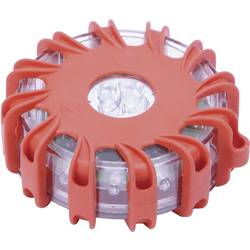 Havariblink 16 LED (12 x rød/4 x hvid) Batteridrevet Magnet-montering Rød, Hvid Kunzer