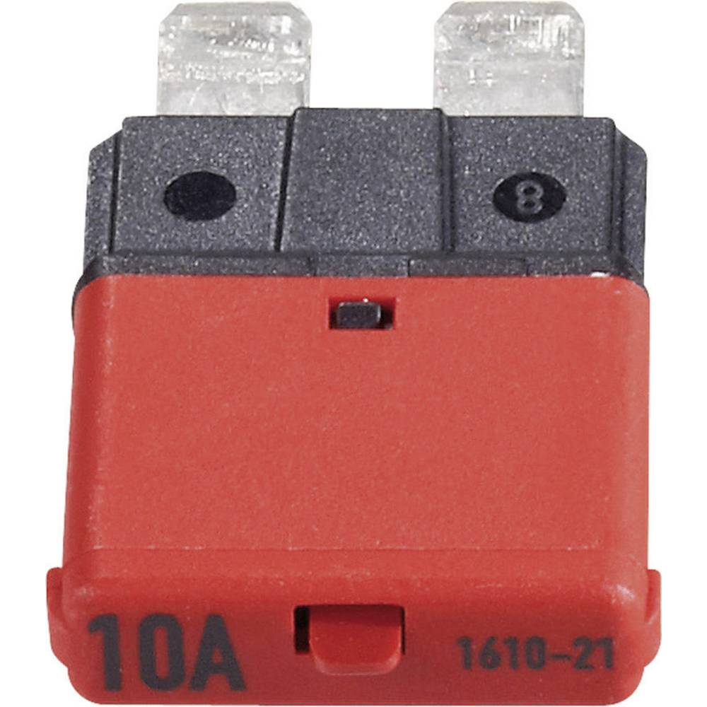 Sikringsautomat Standard Fladsikring 10 A Rød 1610 CE1610-21-10A 1 stk