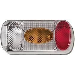 Zadnja luč za priklopnike, luč za vzvratno vožnjo, luč za registrsko tablico, zavorna luč, zadnja meglenka, smernik