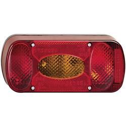 Zadnja luč za priklopnike, luč za vzvratno vožnjo, luč za registrsko tablico, smernik, zavorna luč, meglenka