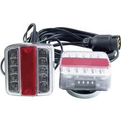 Zadnja luč za priklopnike s 4 funkcijami, smernik, zavorna luč, luč za registrsko tablico in vzvratno vožnjo, prozorna 12 V