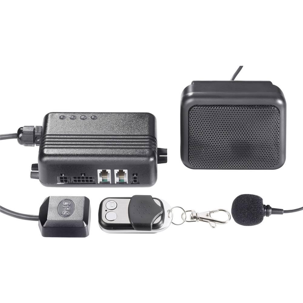 Bilalarm-system GKA100 6 V, 12 V, 24 V, 32 V Sort