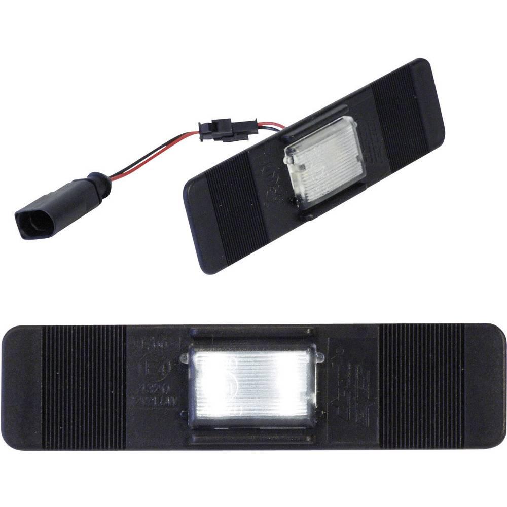 Devil Eyes Univerzalne LED luči za registrsko tablico štirikolesnikov, 2 LED (D x Š) 120 mm x 30 mm