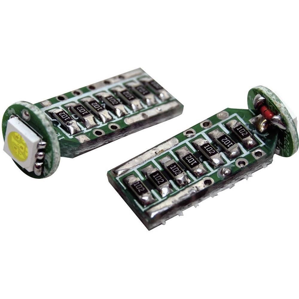 Eufab SMD-LED T10 žarnica T10 W2.1x9.5d bela (Ø x D) 9 mm x 24 mm