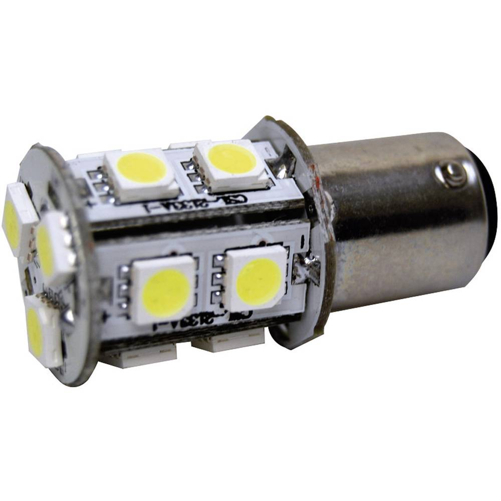 LED-Signalleuchte (value.1317401) Eufab BA15d 12 V