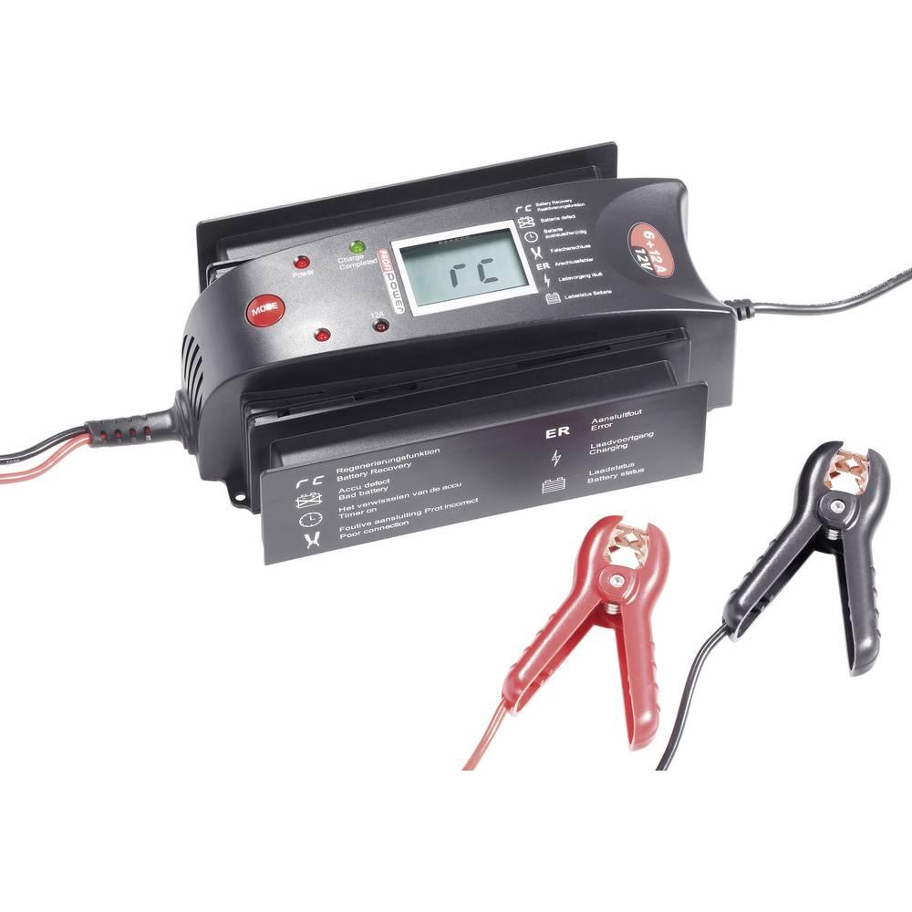 PROFI POWER AUTOMATIK-polnilnik 6/12A12 LCD 6+12A