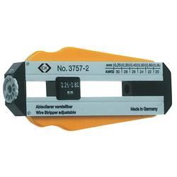 C.K. alat za skidanje izolacije - podesiv na 6 promjera kablova 0,25 - 0,80 mm 330013