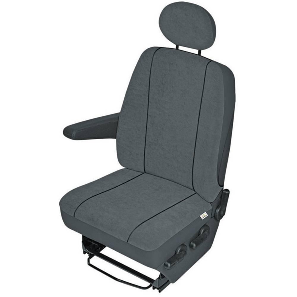 Zaščitna sedežna prevleka za kombije, antracitne barve, za posamezni sedež 22411