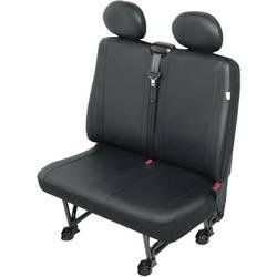 Zaštitna navlaka za sjedala kombija, crne boje, za dvostruko sjedalo 22812