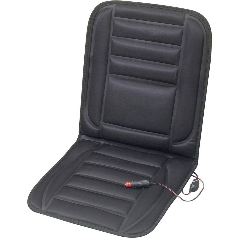 Grijaća prostirka za sjedalicu 12 V 2 stupnja grijanja crna