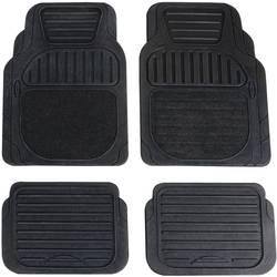 Univerzalni auto tepisi Deluxe, crne boje, 4-dijelni komplet 74917