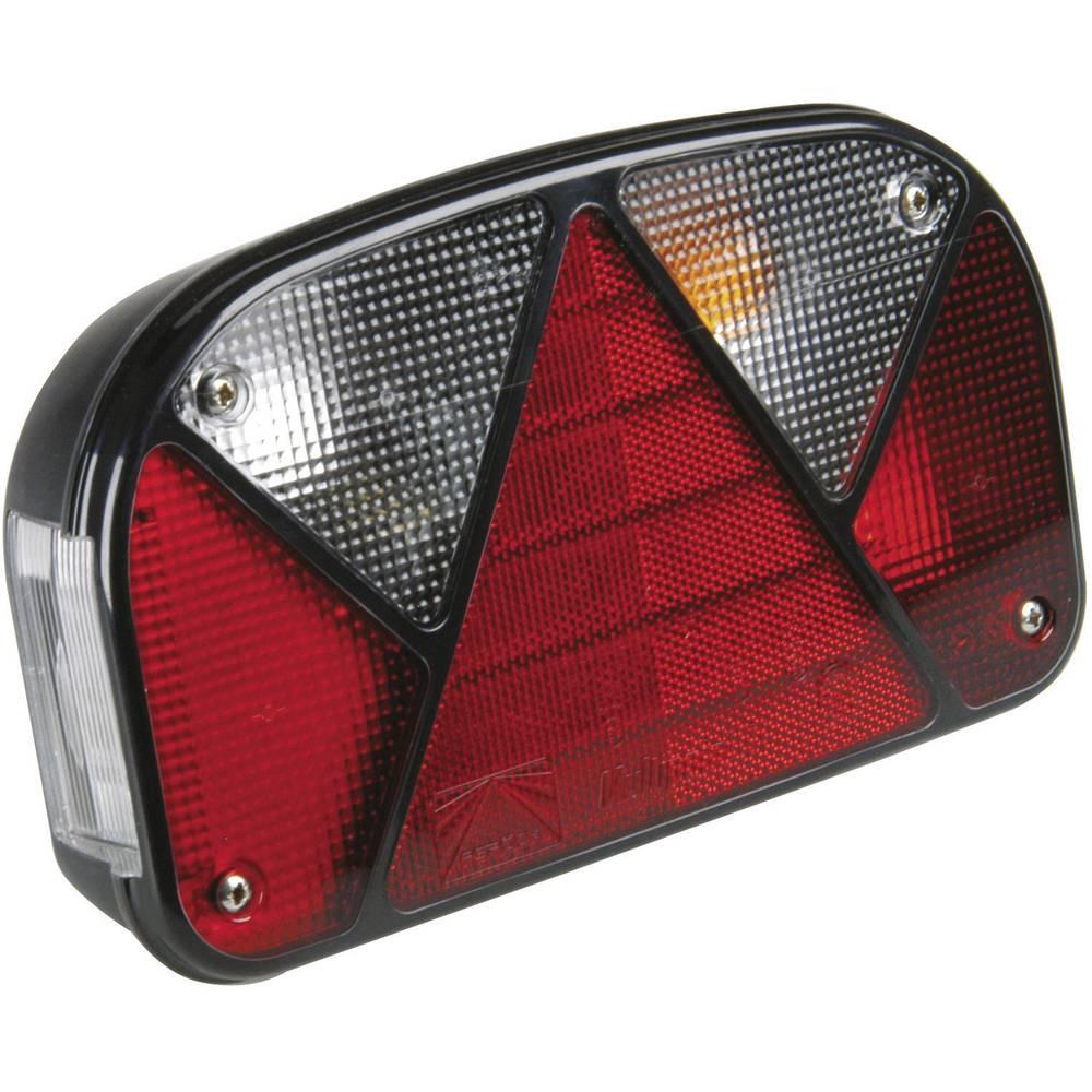 Halogenska zadnja luč za priklopnike, smernik, zavorna luč, luč za registrsko tablico, rdeča 12 V