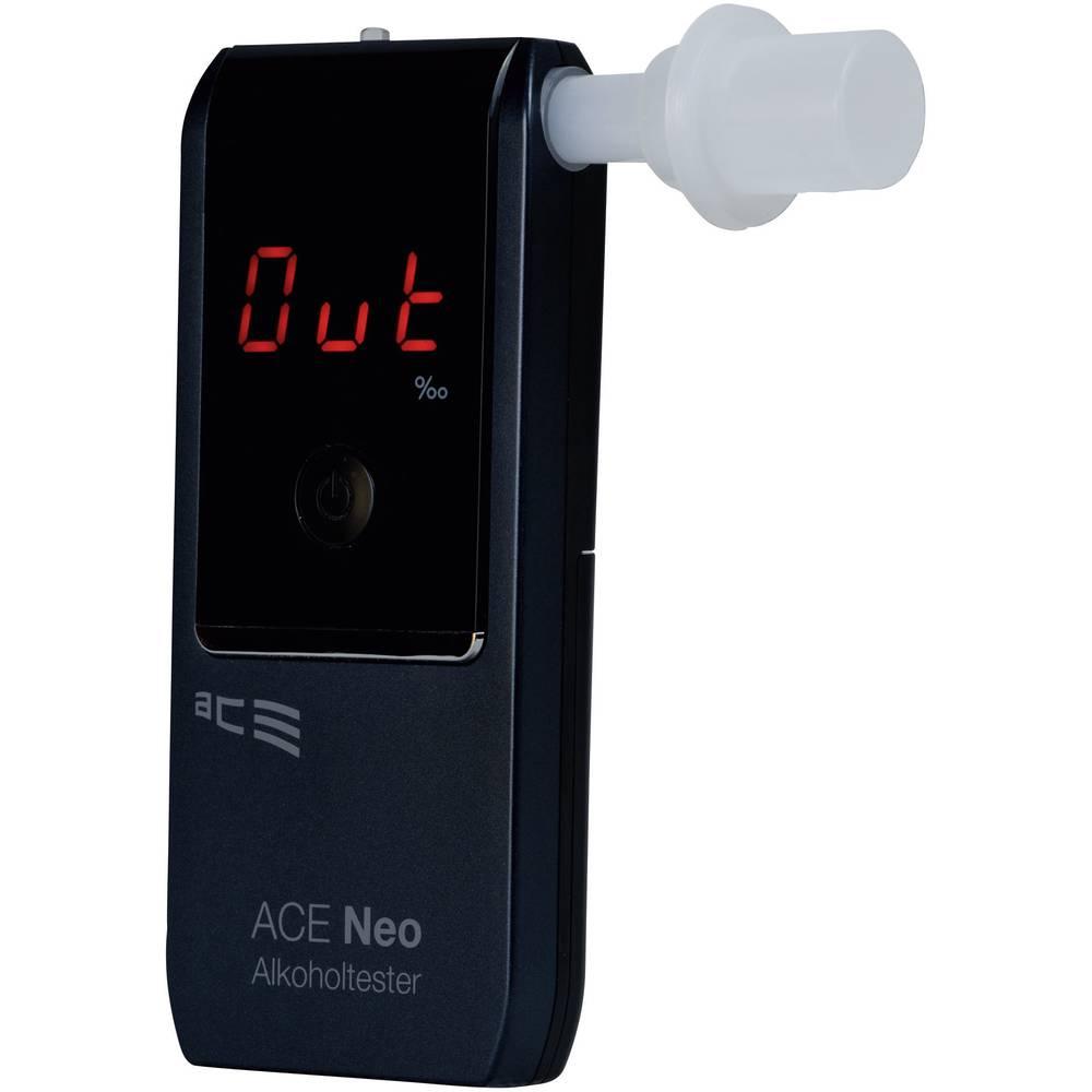 Alkotester ACE Neo mornarsko modre barve, merilno območje alkohola (maks.)=4 ‰ vklj. zaslon