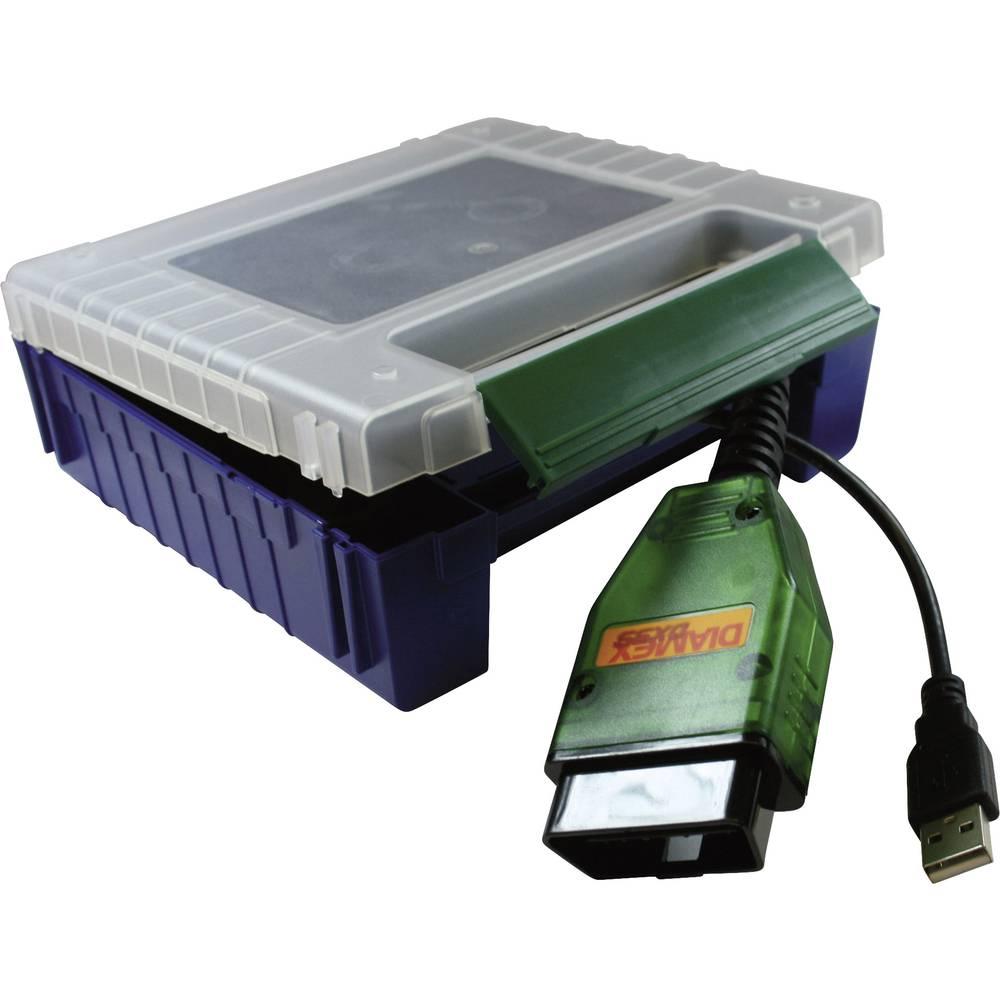 OBD2 diagnostični vmesnik Diamex DX35, primeren za vsa vozila s priključkom OBD II 7104