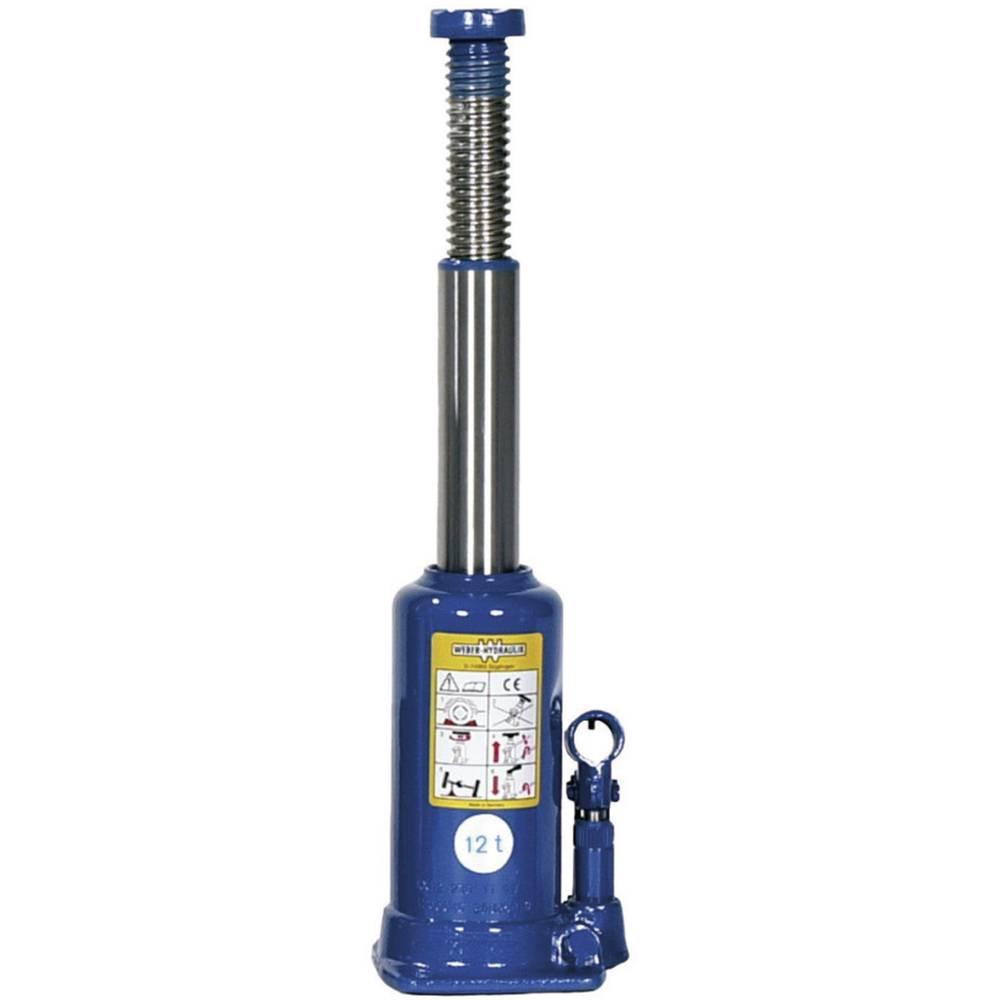 Hydrauliske Jacks - Standart 12 t Weber Hydraulik A 12-230 Kunzer Wagenheber m. Pumphebel 12 T
