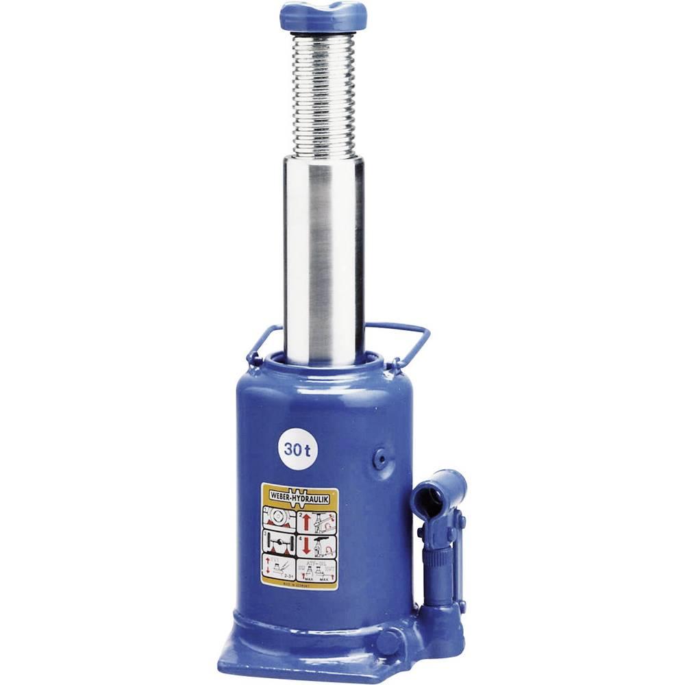 Hydrauliske Jacks - Standart 30 t Weber Hydraulik A 30-240 Kunzer Wagenheber m. Pumphebel 30 T