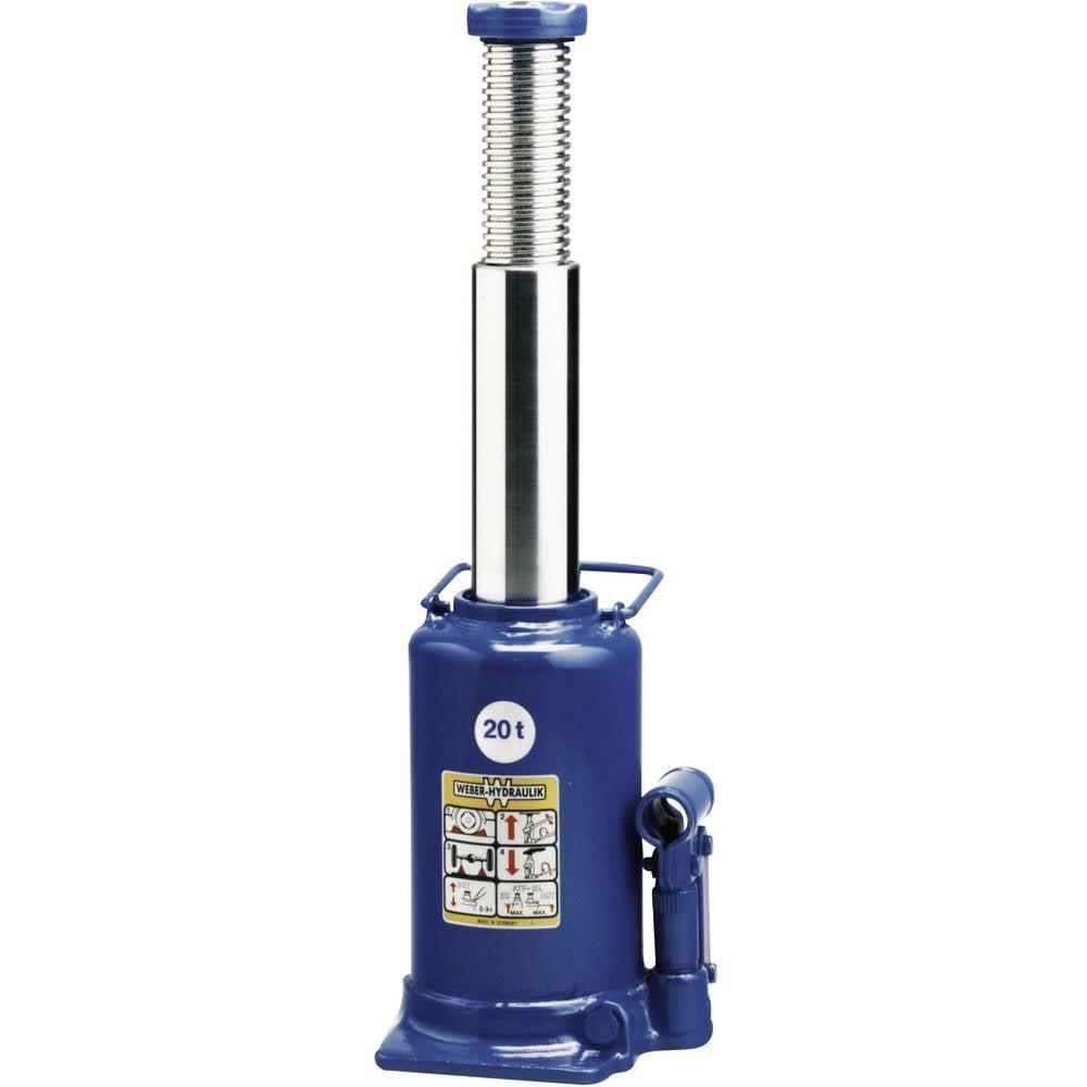 Hydrauliske Jacks - Standart 20 t Weber Hydraulik AX 20-240 Kunzer Wagenheber m. Pumphebel 20 T