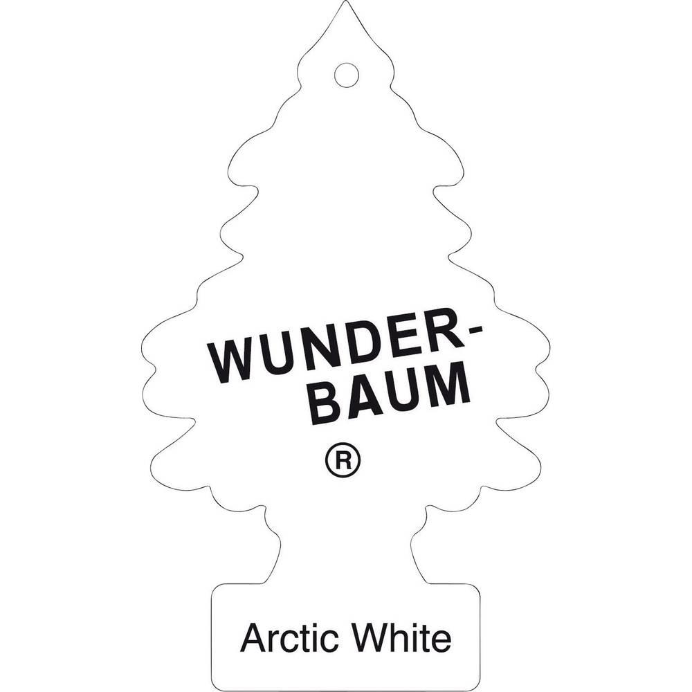 Osvežilno drevesce Wunder-Baum Arctic White, 1 kos 134347