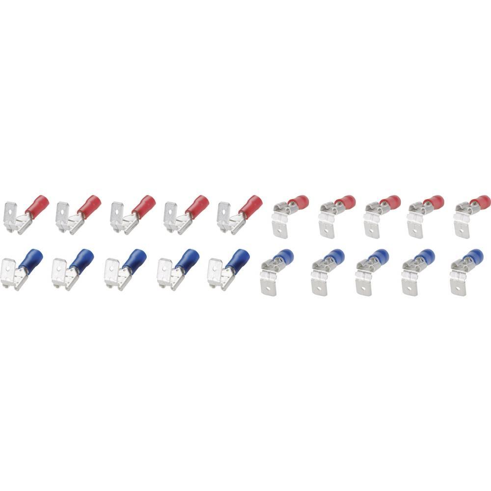 Razdelilnik za ploščate vtiče, komplet 6,3 mm 0.25 do 2.5 mm2