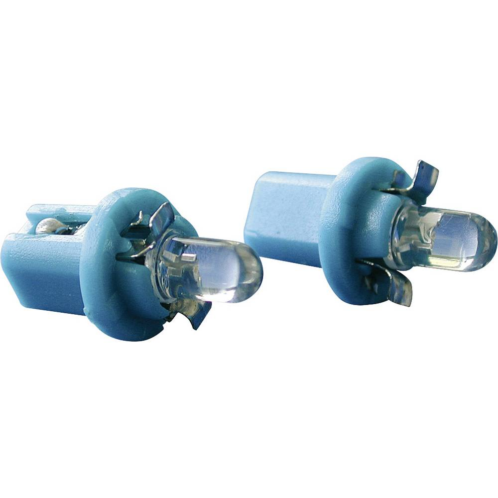 Eufab LED žarnica za osvetlitev avtomobilskih instrumentov B8.5d, modra 13480
