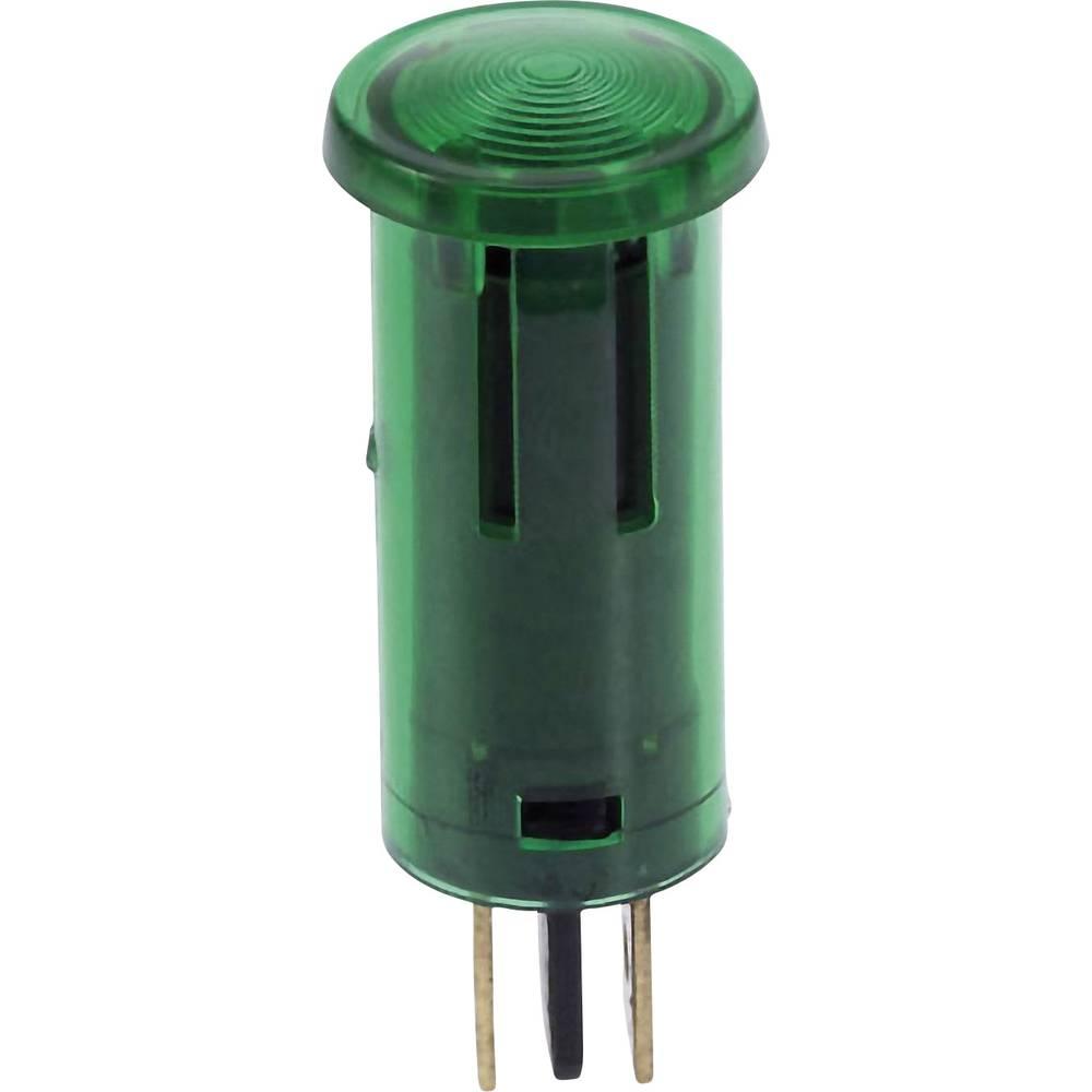 Kontrolna lučka 12 V 0.7 W zelena, vsebina: 1 kos