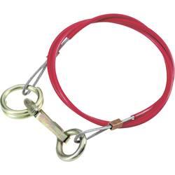 Zavorna vrv za primer izgube priklopnika