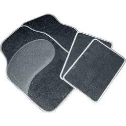Univerzalni avtomobilski tekstilni predpražnik Diamant, 4-delni črne in sive barve Eufab