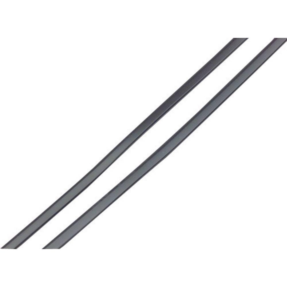 Zaštitni profil za rubove vrata, crni 18280