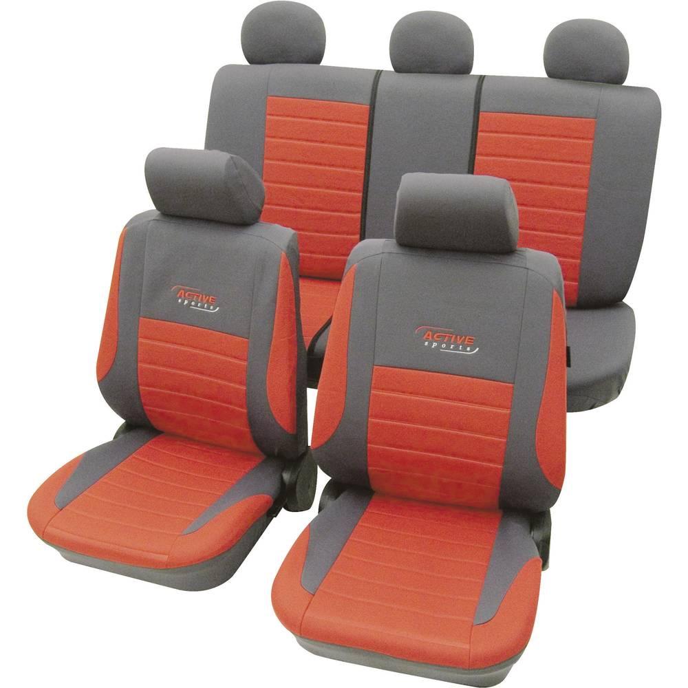 Active sædebetræksæt, 11 dele cartrend Active Universal Rød 1 Set
