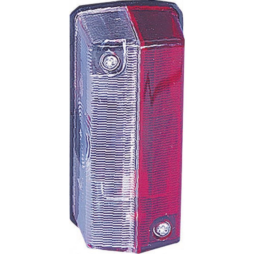 Stranska označevalna luč za priklopnike, rdeča, bela 12 V SecoRüt