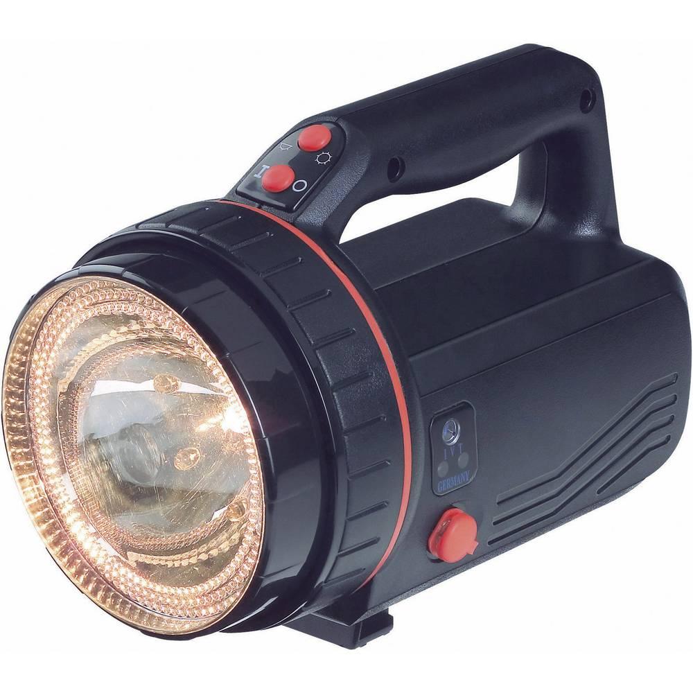 Ručni reflektor s baterijom PL-838LB IVT halogen LED 30 h crna