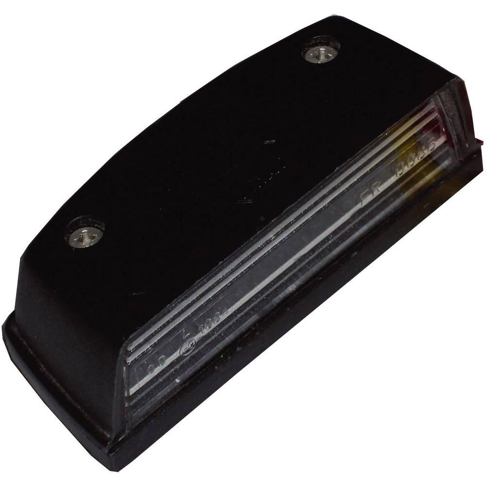 Luč za registrsko tablico, črna 12 V, 24 V SecoRüt
