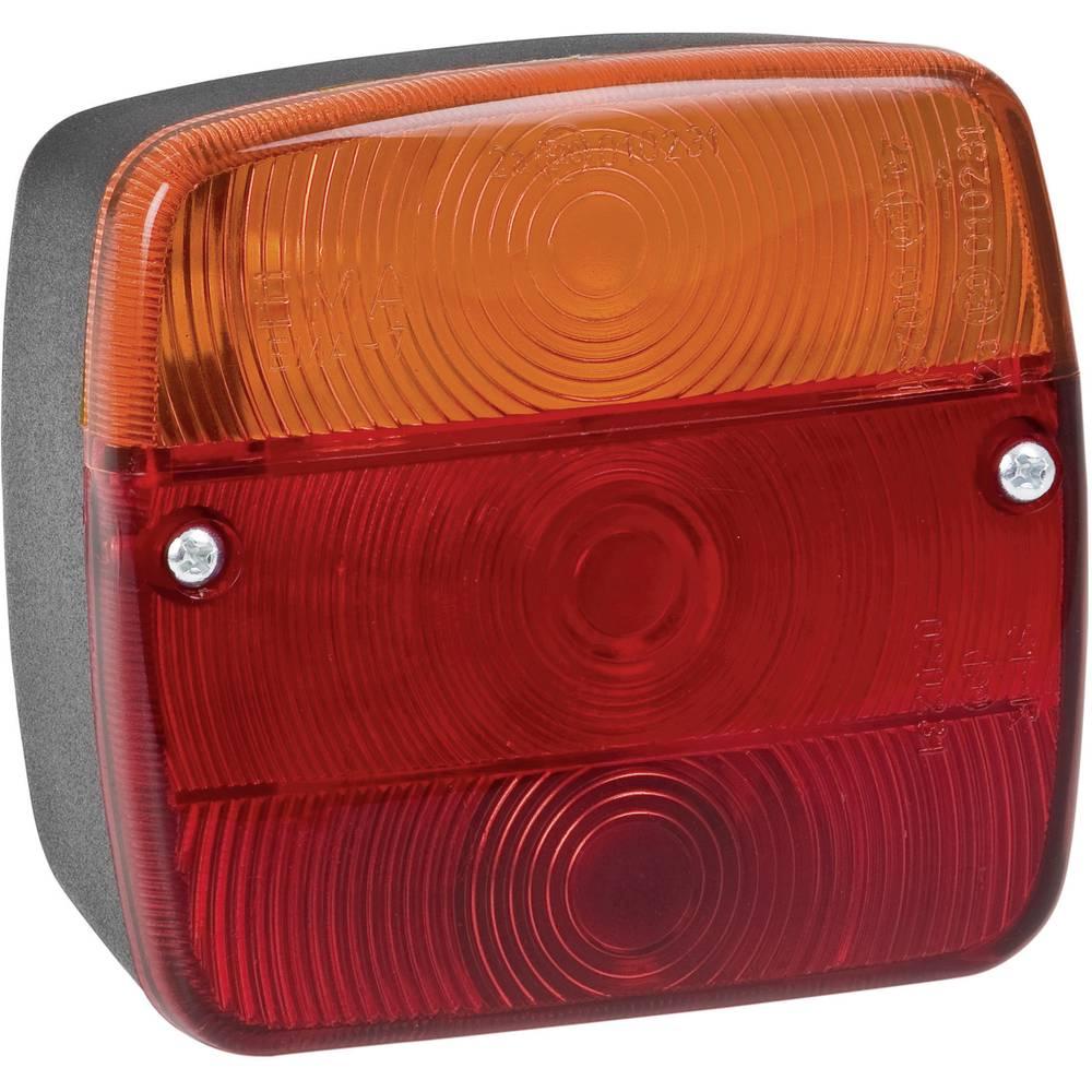Zadnja luč za priklopnike, smernik, zavorna luč, rdeča, oranžna 12 V, 24 V SecoRüt