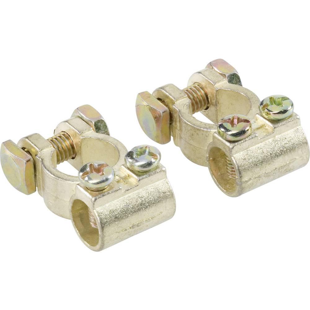 Batteriepolsko Minuspol (value.1455209), Pluspol (value.1455207) 00701 1 pair