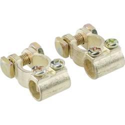 Akumulatorska sponka, ravna Plus/Minus (Š x V x G) 30 x 20 x 45 mm