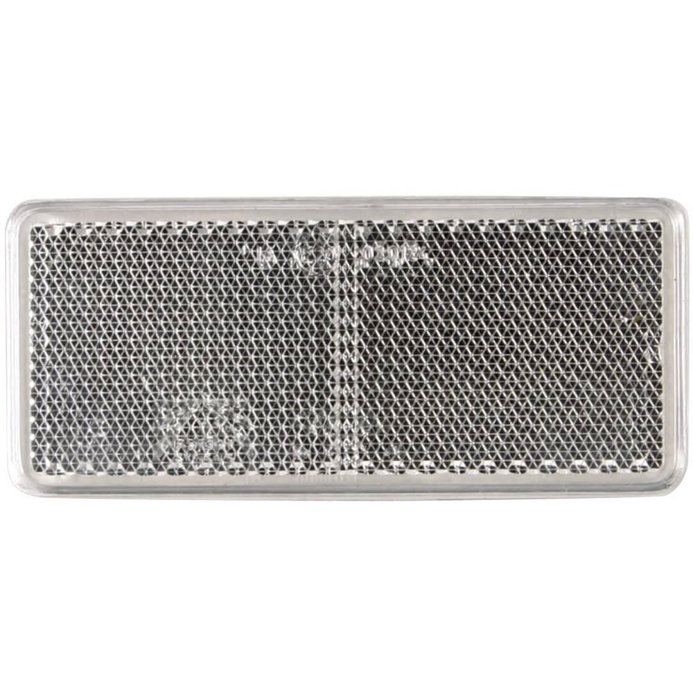 SecoRüt Odsevnik za priklopnike, bela (D x Š) 90 mm x 44 mm