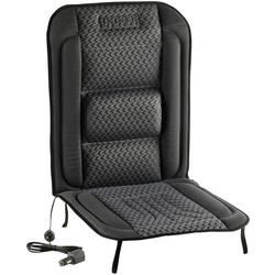 Dometic Group ogrevana sedežna blazina 12 V 2 stopnji gretja, ledvena opora črne, sive barve