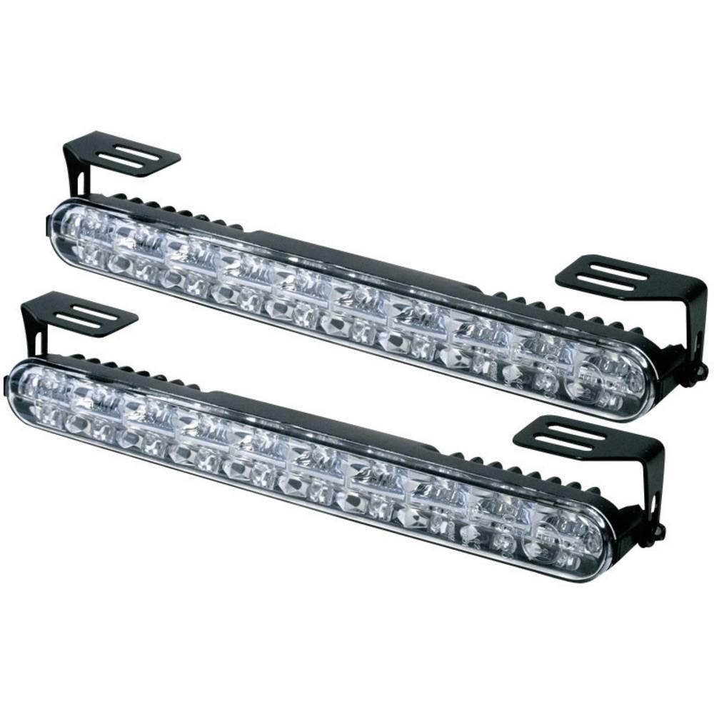 DINO LED luči za dnevno vožnjo in pozicijske luči, 20 LED (Š x V x G) 230 x 28 x 35 mm