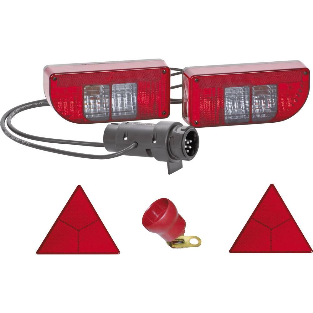 Glødepære Anhænger-belysningssæt Blinklys, Baglygte , Bremselys, Tågebaglygte , Nummerpladepære , Reflektor bagved 12 V SecoRüt