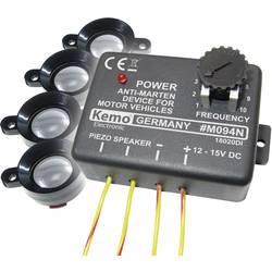 Odganjalnik kun Kemo M094 M094 z optično zaščito, zvočnik za upravljanje 12 V 1 kos