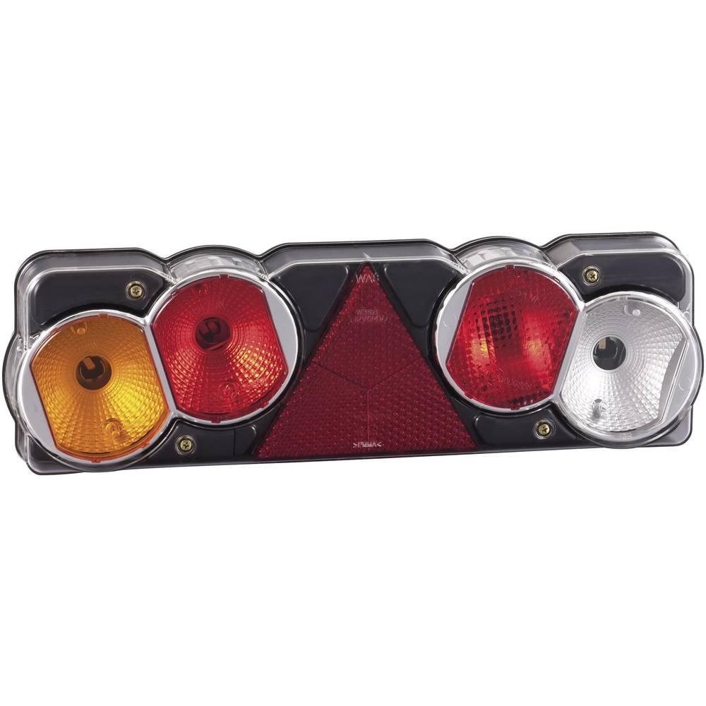 Glødepære Anhænger-baglygte Blinklys, Bremselys, Baglygte , Baklys , Reflektor bagved, benstre 12 V, 24 V SecoRüt